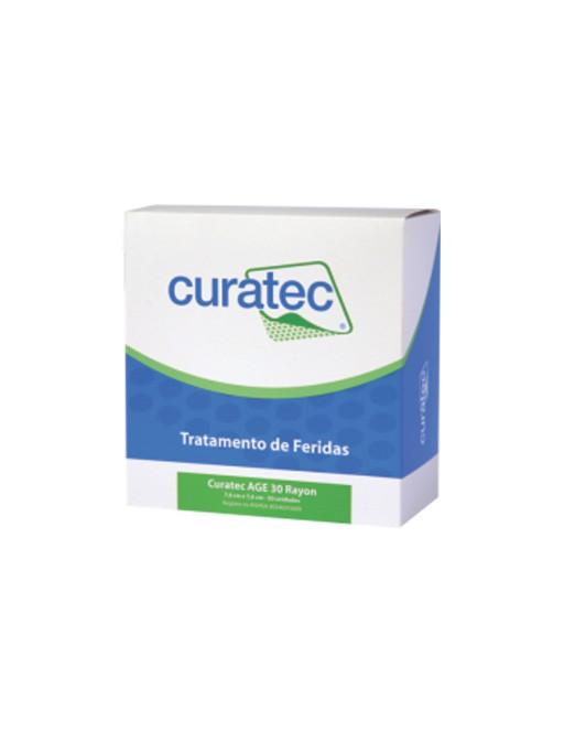 Curatec AGE 30 Rayon (Compressa de Rayon com AGE) – 7,6 cm x 7,6