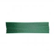 Bastões de Cola Quente Glitter Verde (Supramelt 7501VD) - Fino 7,5mm x 30 cm (10uni)