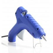 Pistola de Cola Quente Hobby 17W/40W - G-250 Azul  (Bastão de Cola Quente Grossa 11.5mm)