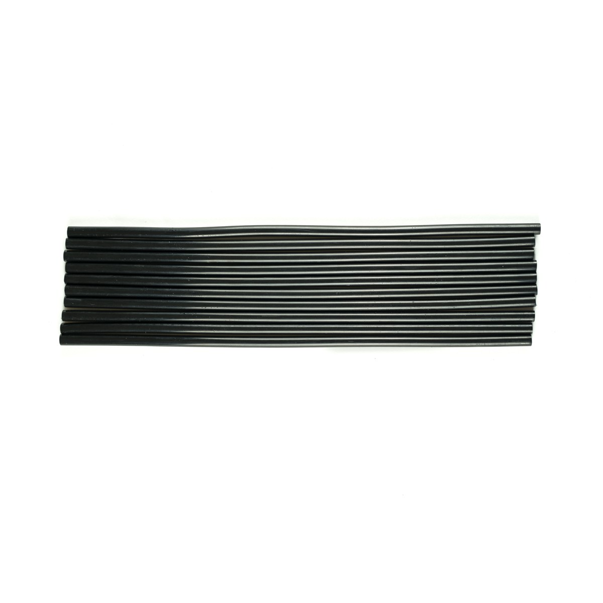 Bastões de Cola Quente Preto (Supramelt 7501P) - Fino 7,5mm x 30 cm (10uni)