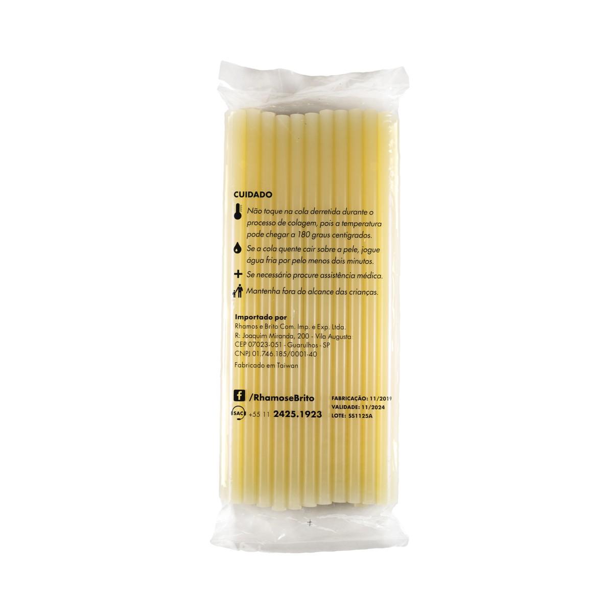 Bastões de Cola Quente Amarela (151) - Grosso