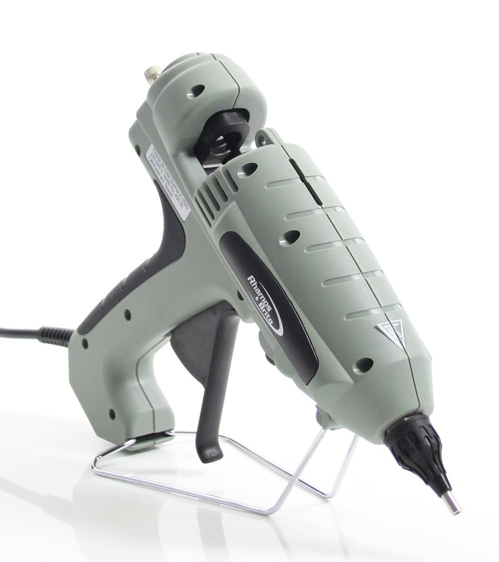 Pistola de Cola Quente Grossa Industrial 400W - K-2550 (Bastão de Cola Quente grosso 15mm)