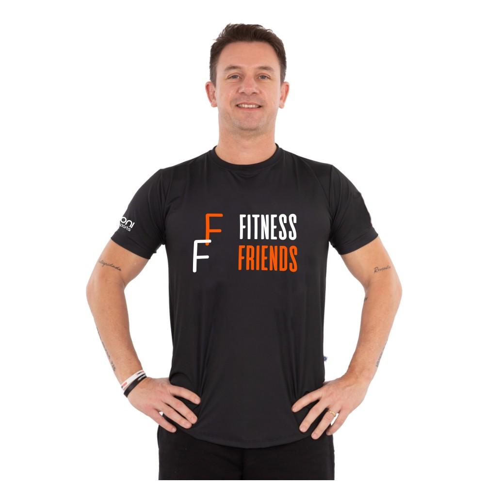 Camiseta Masc Fitness Friends
