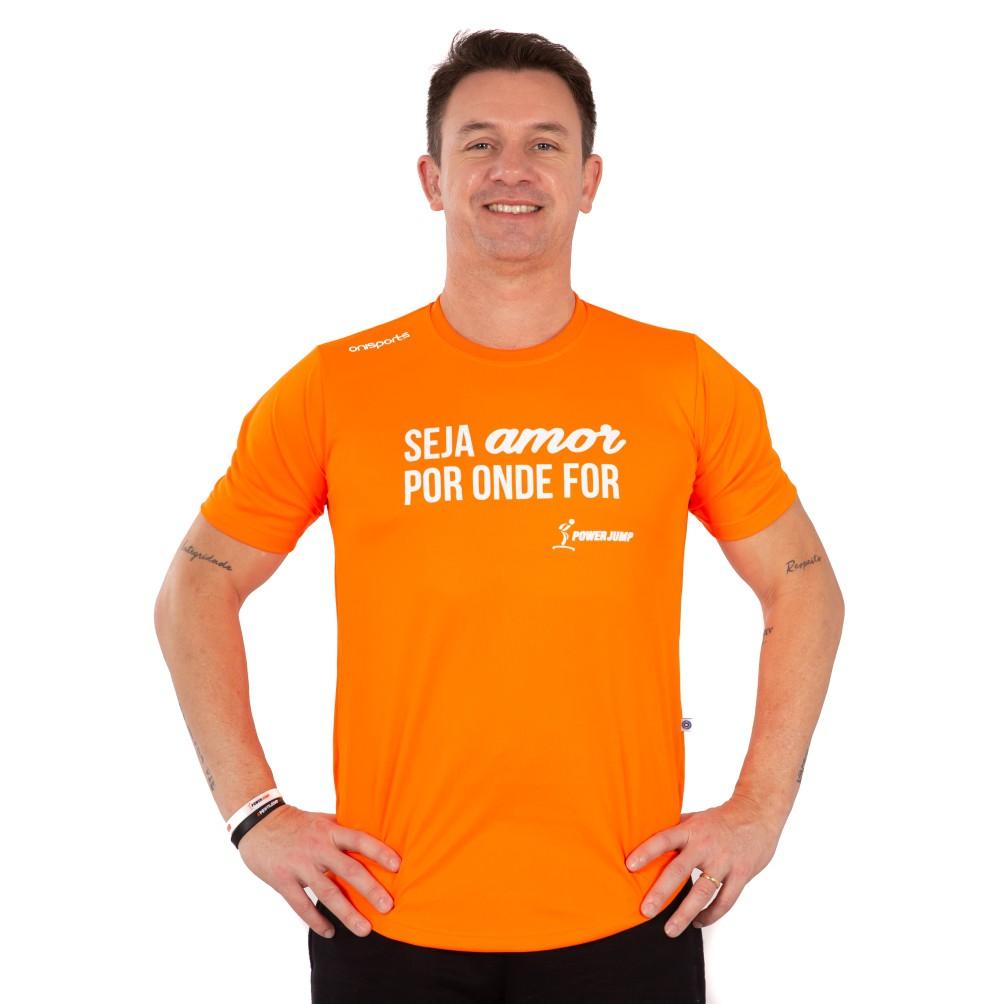 Camiseta Power Jump Seja Amor Masculina