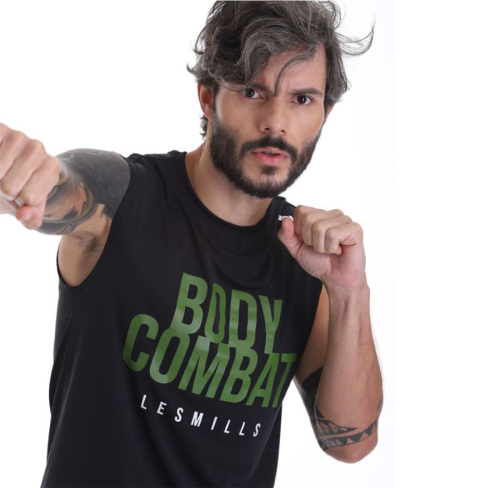 Regata Les Mills Body Combat Masculina