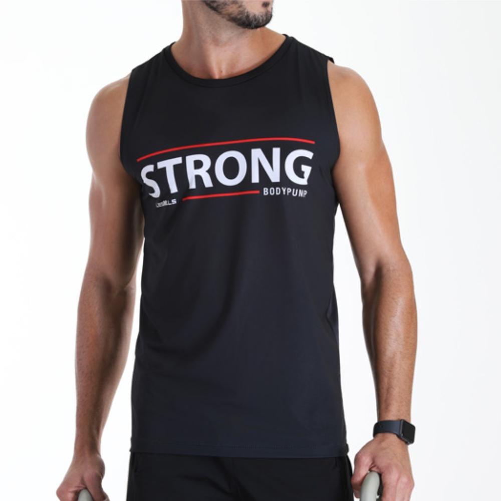Regata Les Mills Body Pump Strong Masculina