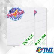 Decalque DCT 4.5 W/C  Transparente e Branco – Decalque a base d'água - 2 folhas