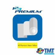 Filme de Recorte – 123 Premium - Amarelo Neon - 1 metro (linear) 50x100cm