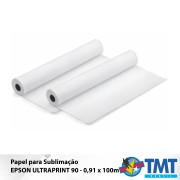 Papel Sublimático Epson UltraPrint 90 – 0,91X100m
