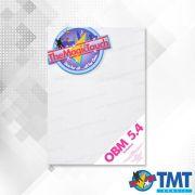 Transfer OBM 5.4 A4 - 50 folhas –  Transfer para impressora Laser para tecidos coloridos