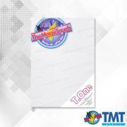 Transfer T.One A4 - 50 folhas –  Transfer para impressora laser para tecidos Claros sem recorte
