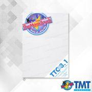 Transfer TTC 3.1 + Plus A4 - 100 folhas – Transfer para impressora Laser para tecidos de trama Aberta brancos ou claros
