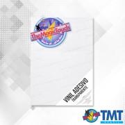 Vinil Adesivo Transparente – A4 - 100 folhas