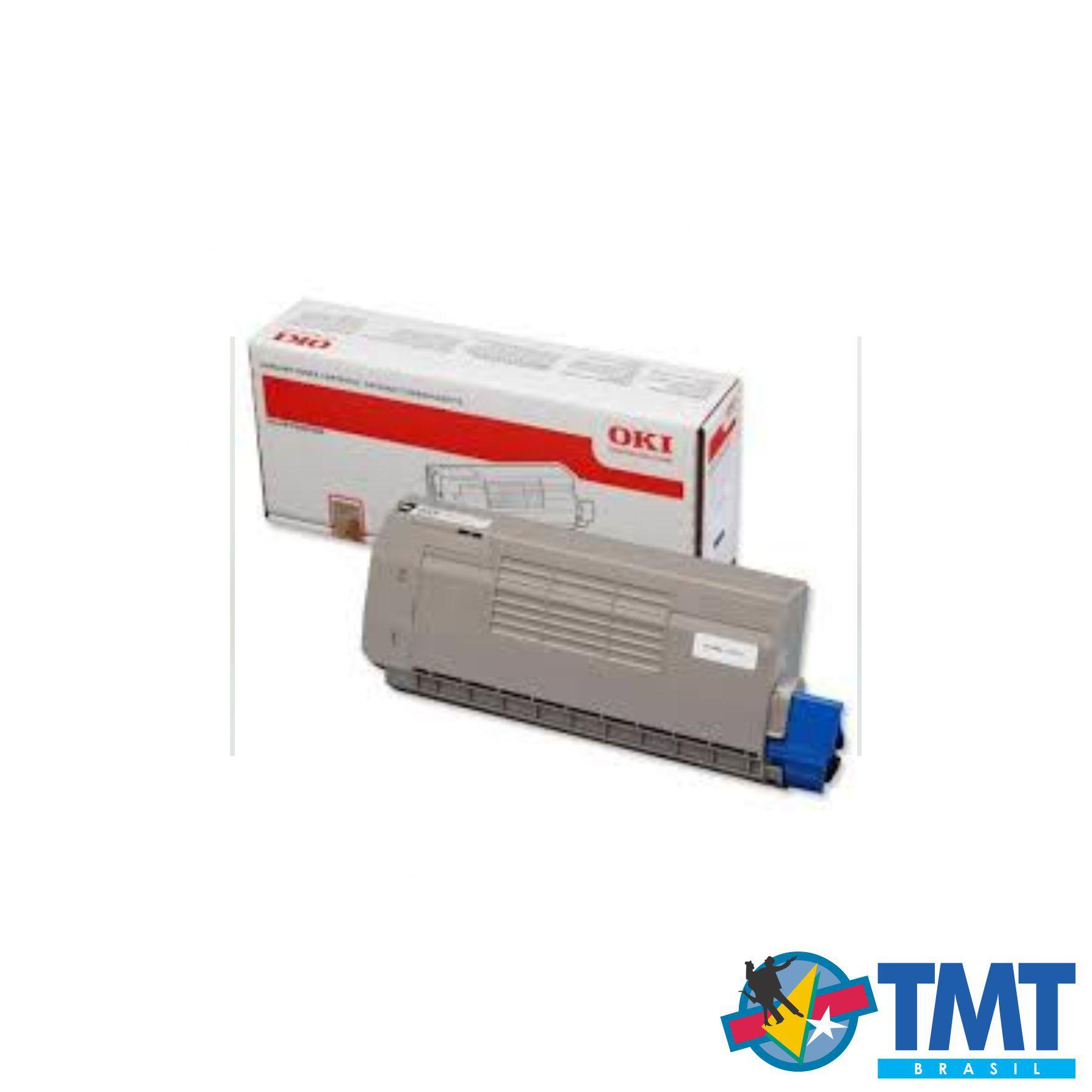 Cartucho de Toner Branco OKI C711 - Alta Capacidade