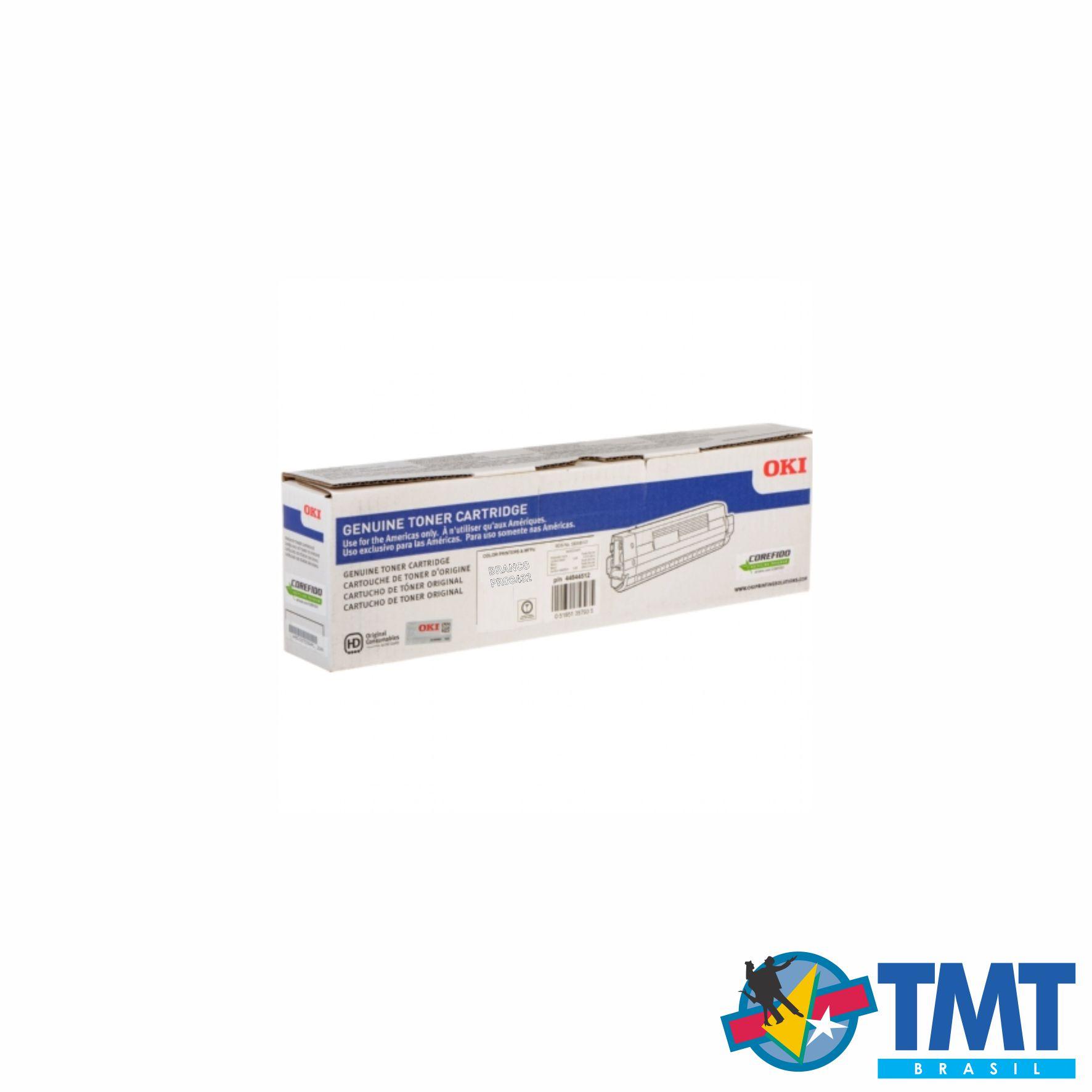 Cartucho de Toner Branco OKI PRO8432 - Alta Capacidade