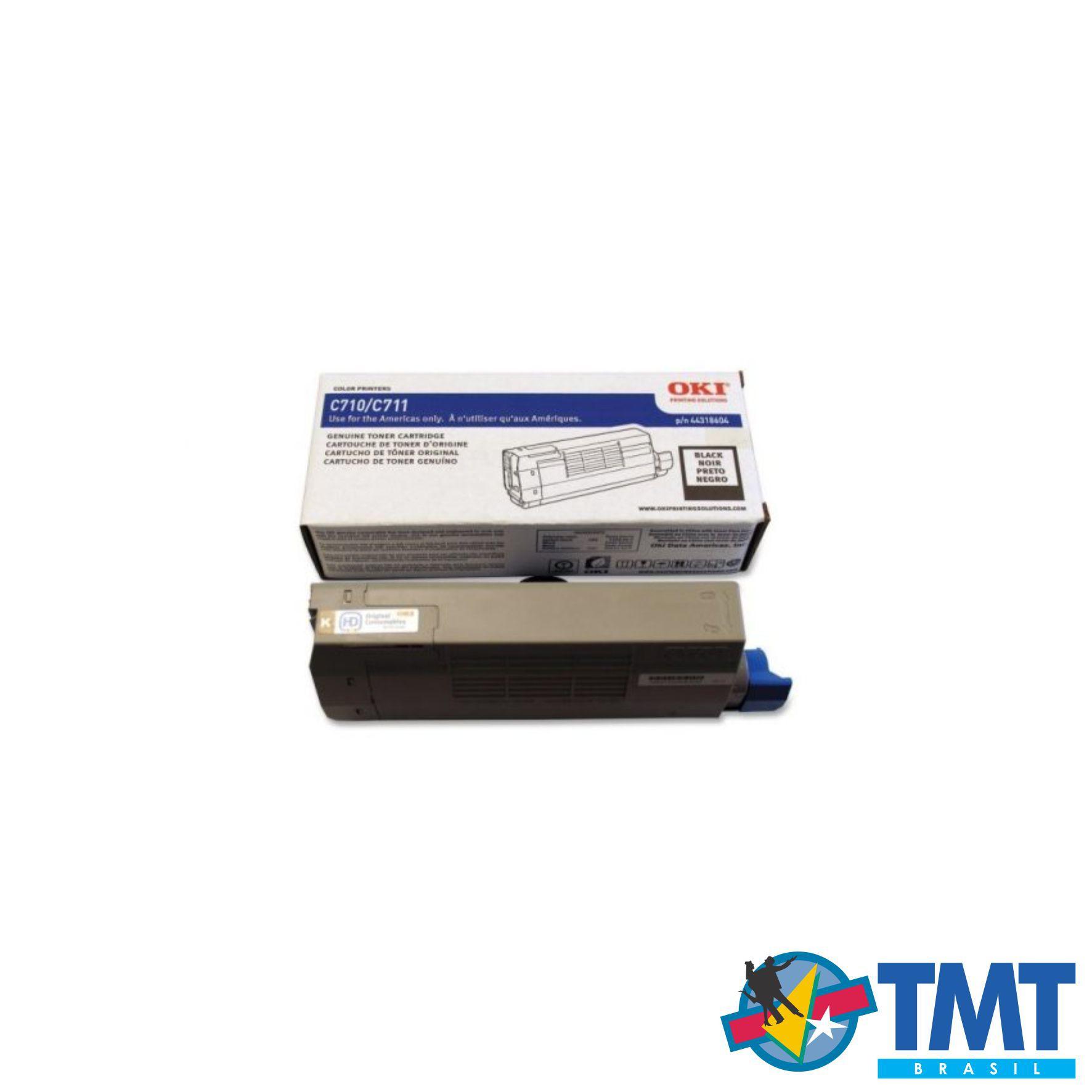 Cartucho de Toner Preto OKI C711 - Alta Capacidade