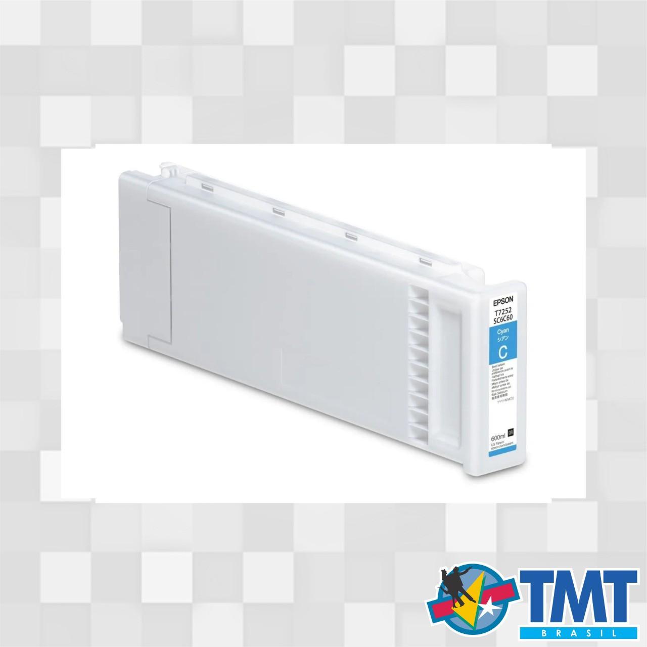 Cartucho Impressora Epson Ciano T725200 - F2000/F2100