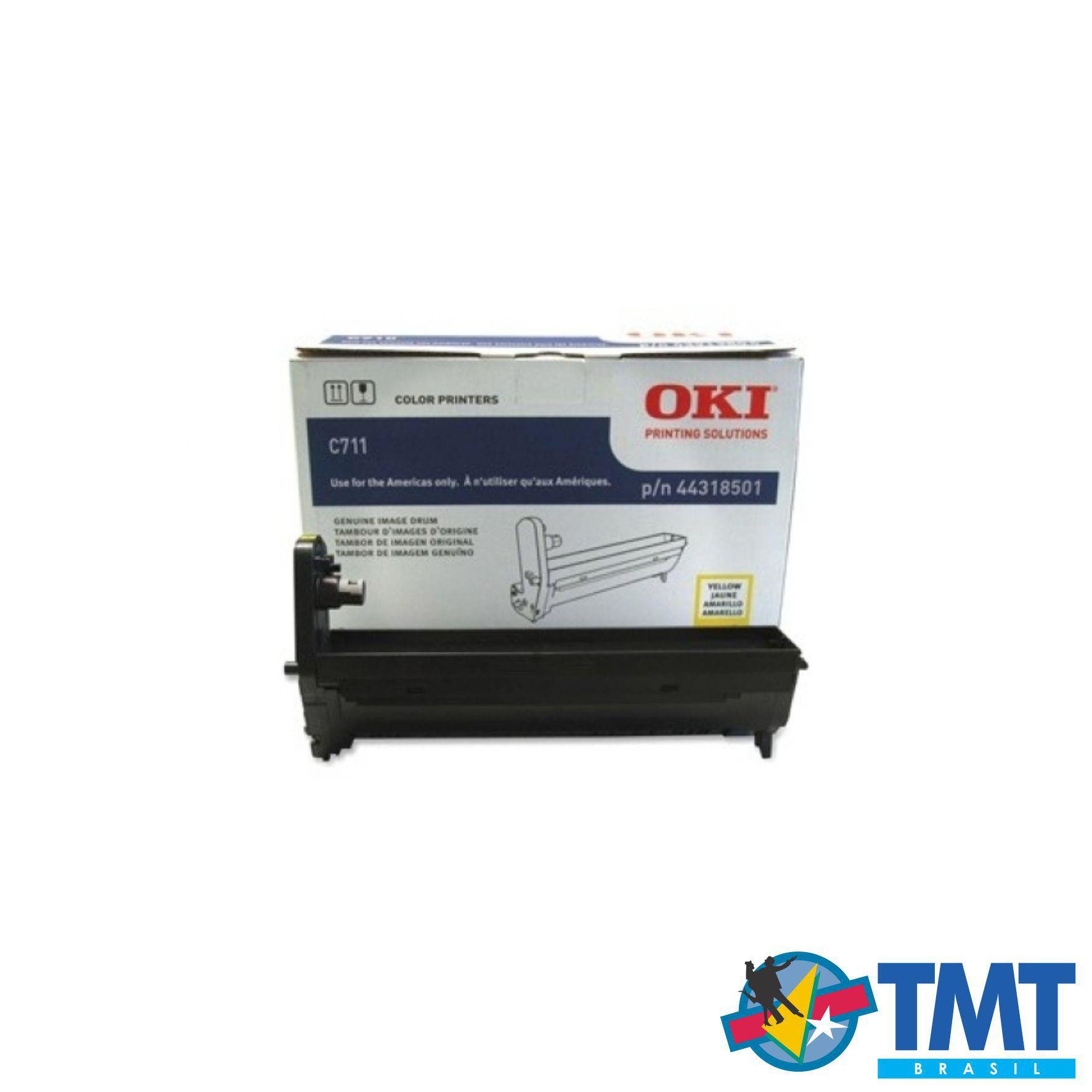 Cilindro Amarelo OKI C711