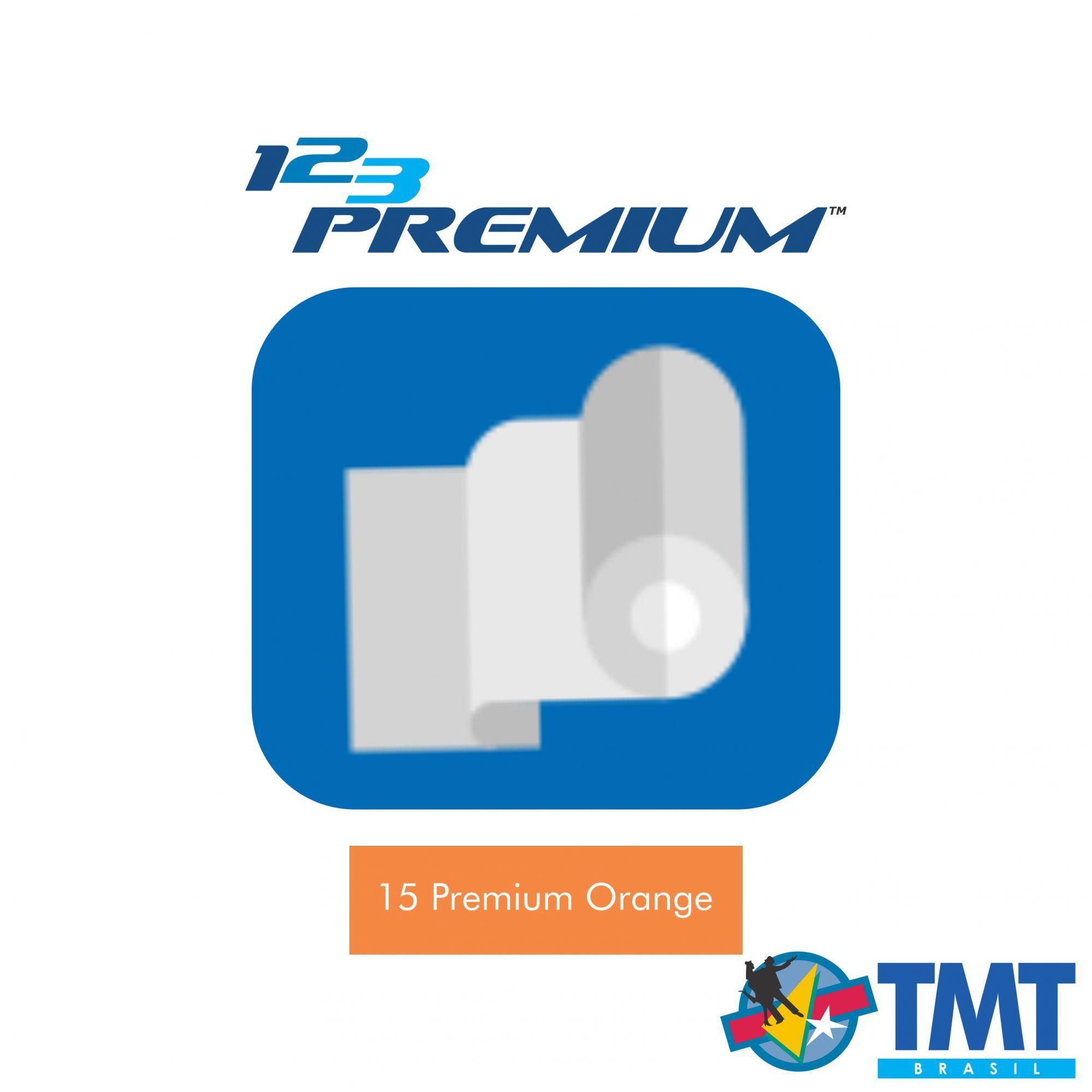 Filme de Recorte – 123 Premium – Alaranjado - 1 metro (linear) 50x100cm