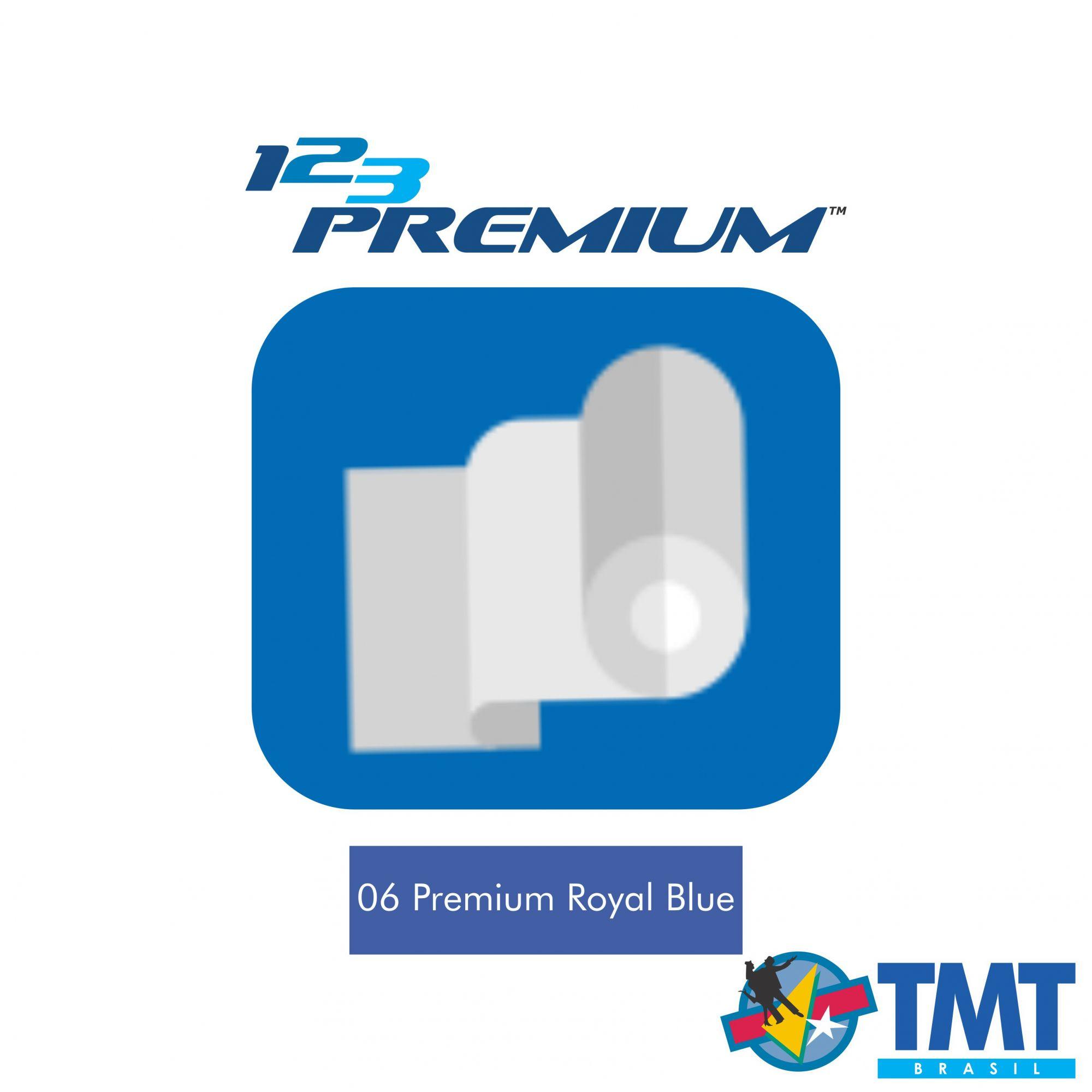 Filme de Recorte – 123 Premium – Azul Royal - 1 metro (linear) 50x100cm