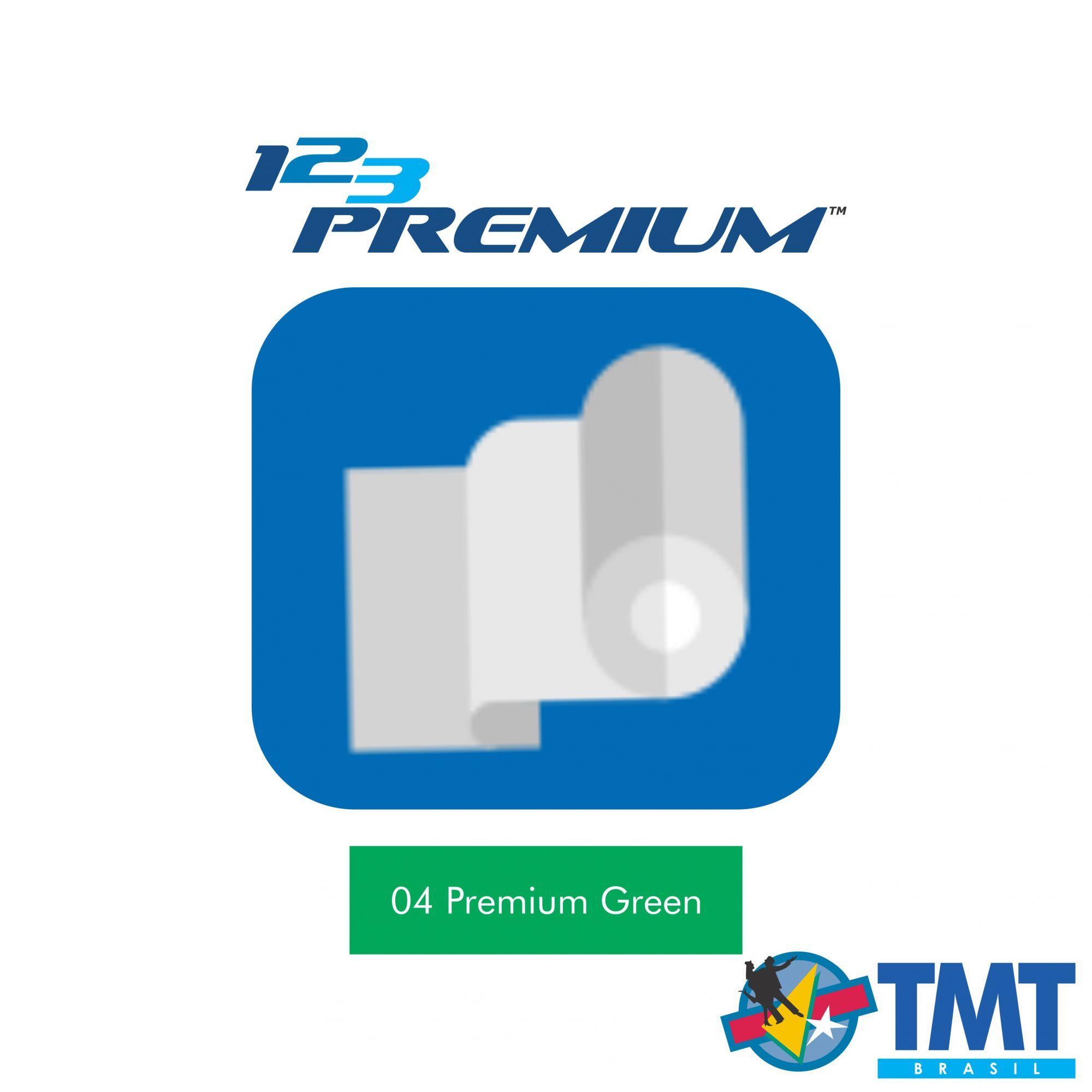 Filme de Recorte – 123 Premium – Verde - 1 metro (linear) 50x100cm