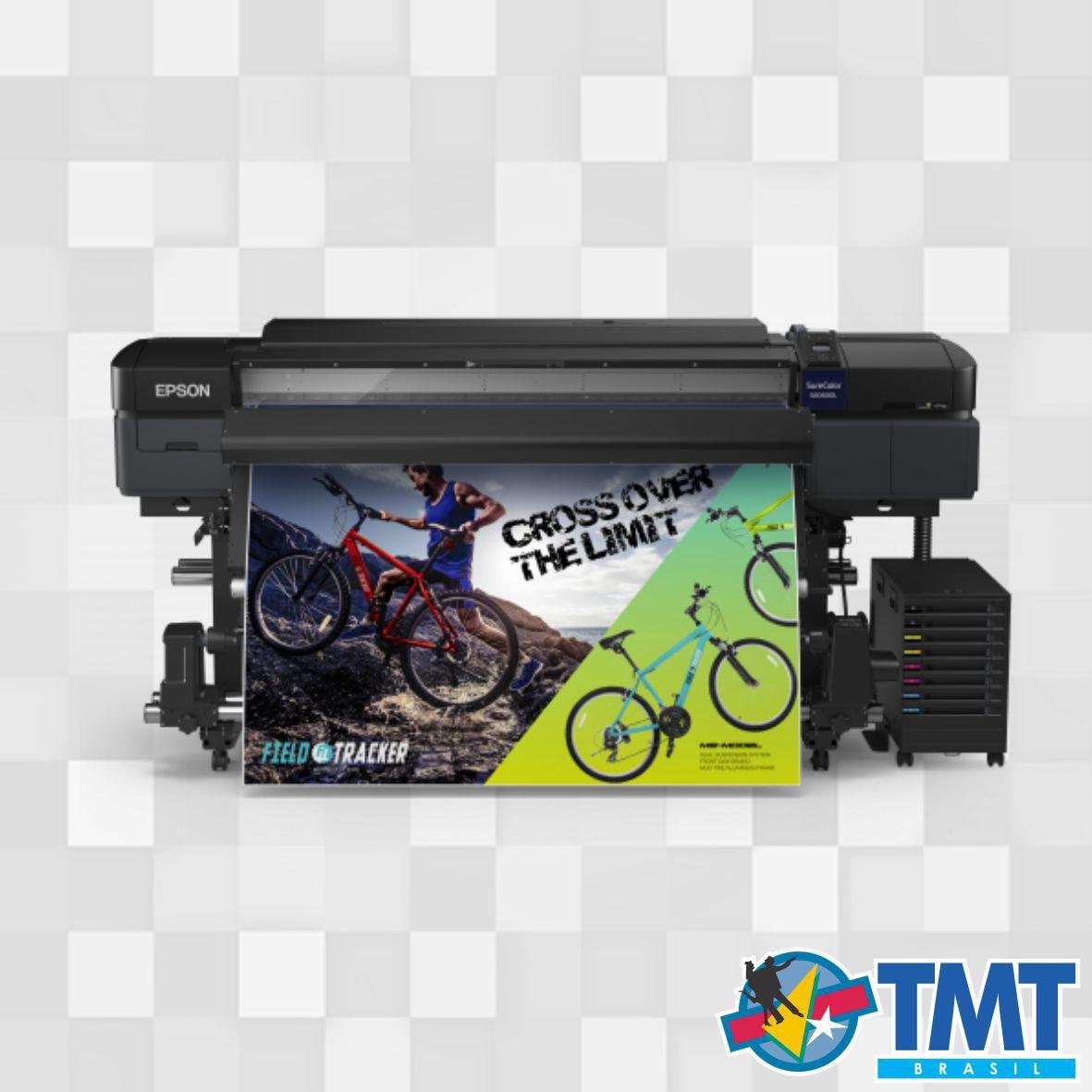 Impressora Solvente Epson SureColor S60600L – 1,60mt – 2 Cabeças
