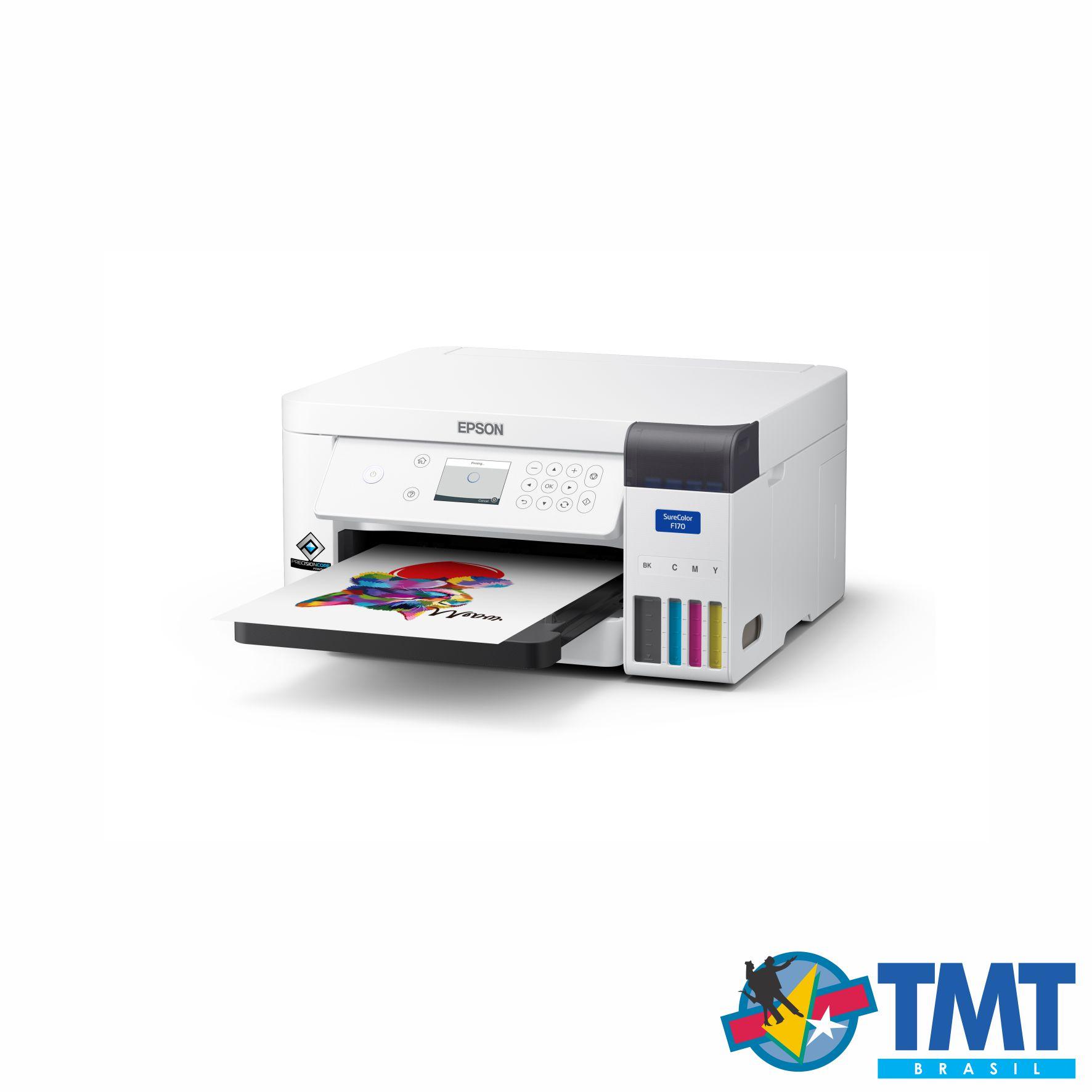 Impressora Sublimática A4 Epson SureColor F170 - A4 - PRONTA ENTREGA