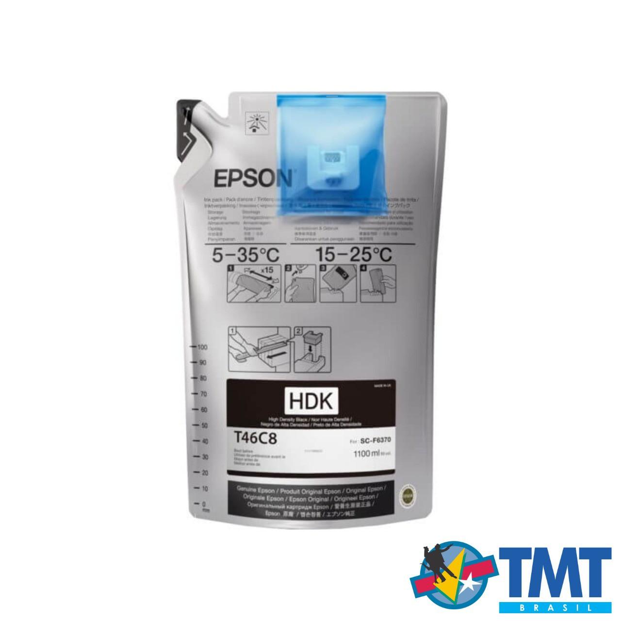 Tinta Sublimática PRETO HDK – Epson SureColor F6370