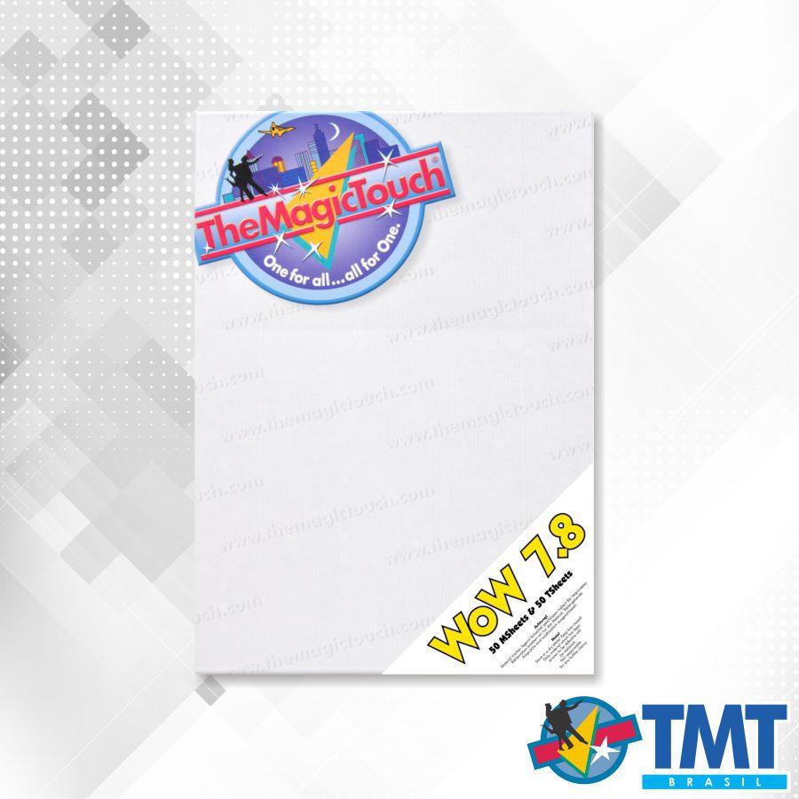 Transfer WOW 7.8 A3 - 50 folhas –  Transfer para impressora laser para tecidos Coloridos sem recorte