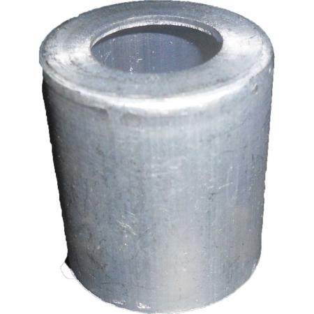"""Caneca Clip Aluminio 12Mm 5/8 P/mangueira Comum  """"10Pcs"""""""