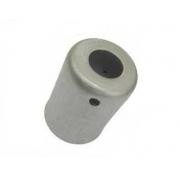 """Caneca Clip Aluminio 12Mm 5/8 P/Mangueira Reduzida  """"10Pcs"""" Aluminio 12Mm *Mang Succao 5/8 Mole* *Pct 10Pcs*"""