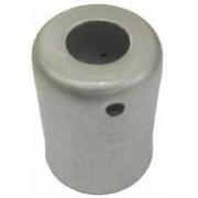"Caneca Clip Aluminio 6Mm 5/16 P/Mangueira Comum  ""10Pcs"" Aluminio 6Mm *Mang. Liquido* *10Pcs*"