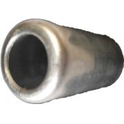 """Caneca Clip Aluminio 8Mm 13/32 P/Mangueira Reduzida  """"10Pcs"""" Aluminio 8Mm *Mang Descarga Mole* *Pct 10Pcs*"""