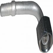 """Conexao - 12X90 O""""ring Alum. """"succao"""""""