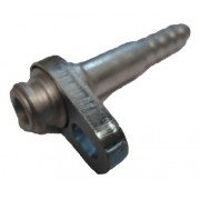 "Conexao - 8 Reta Block Fitting Alum.""descarga"""