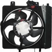 Eletroventilador Citroen C2 C3 2003 A 2008 C/Ar C/Modulo