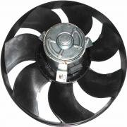 """Eletroventilador - Uno/premio/elba/fiorino 84 S/ar """"7 Uno/premio/elba/fiorino 84> S/ar *7 Pas* *295Mm* Motor Fino"""