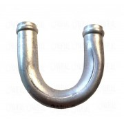 """Emenda U - Isolamento De Ar Quente """"aluminio"""" 3/4  19mm"""