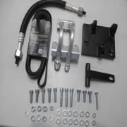 Kit Suporte Compressor - Axor P/Compressor Sanden Orelha Axor P/Compressor Sanden Orelha  *Usar Correia 8Pk 2295*