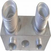 """Valvula Conector - Compressor Ford Fic """"Entrada/Saida Compressor Ford Fic *Entrada/Saida O'ring* P/Traz"""