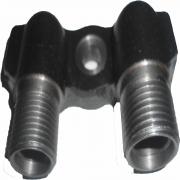 Valvula Conector - Compressor Tm/7H15 Flex Saida Compressor Tm/7H15 Flex Saida P/Cima *Aco*
