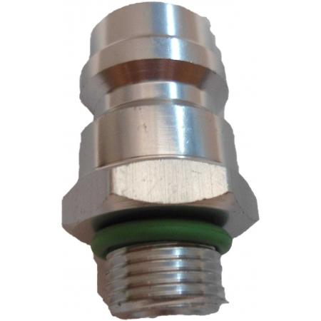 Valvula Enchimento Engate Rapido Alta Pressão 7/16-26G R134A
