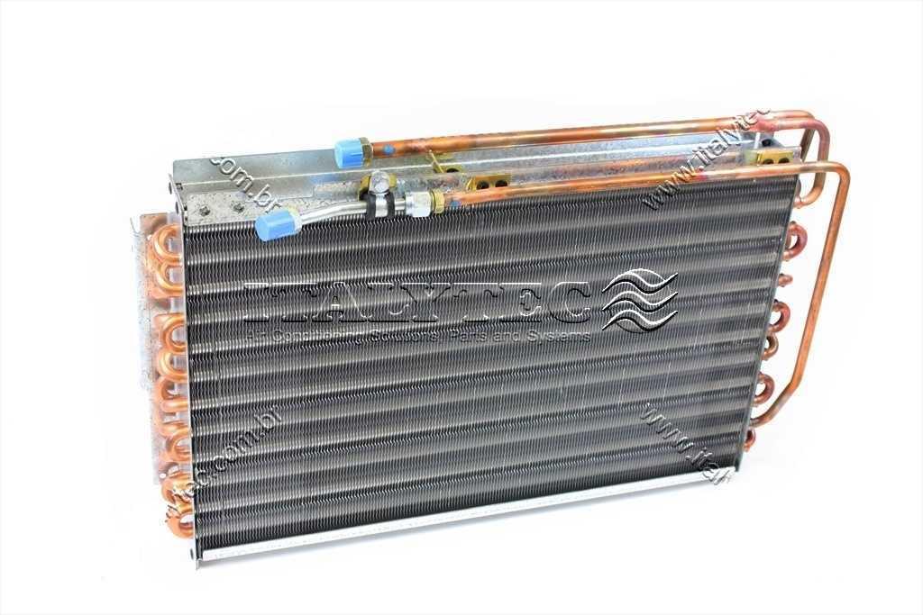 Condensador - Trator Case Mxm 135/185/New Holland Trator Case Mxm 135/185/New Holland Tm/Ts Cobre Oem 82035720/Oem-84156148