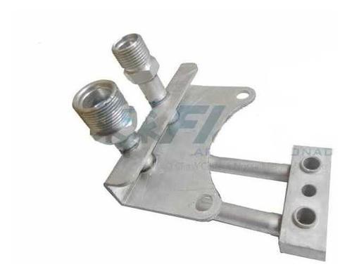 Conector Tubo - Axor P/compressor Sanden Orelha