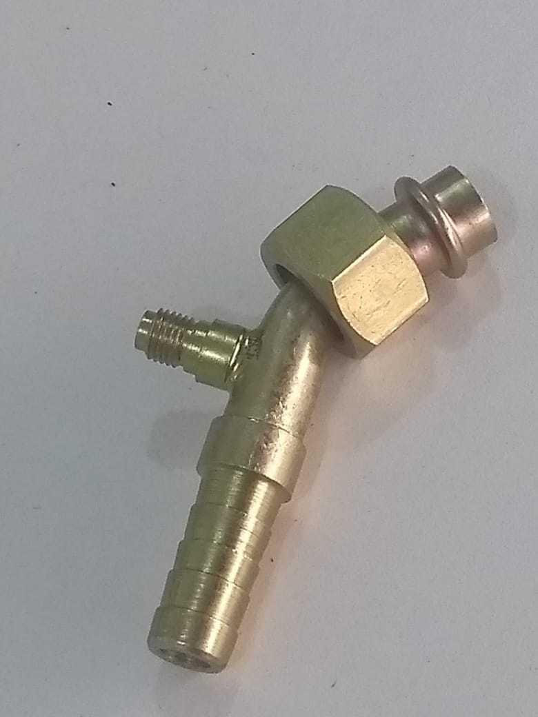 """Conexao - 12X45 O""""Ring Aco P/Pressostato  """"Descarga"""""""