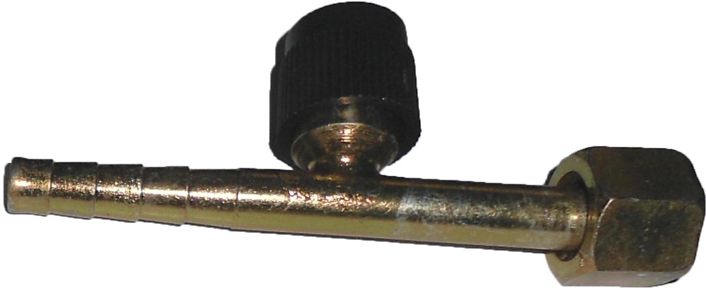 """Conexao - 6 Reta O""""ring Aco C/valv. R134 """"liquido"""""""