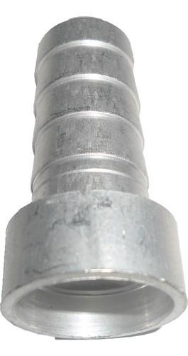 Conexao Salva Vida Espigao 12mm Alumi Encaixe Int 12mm 10pcs