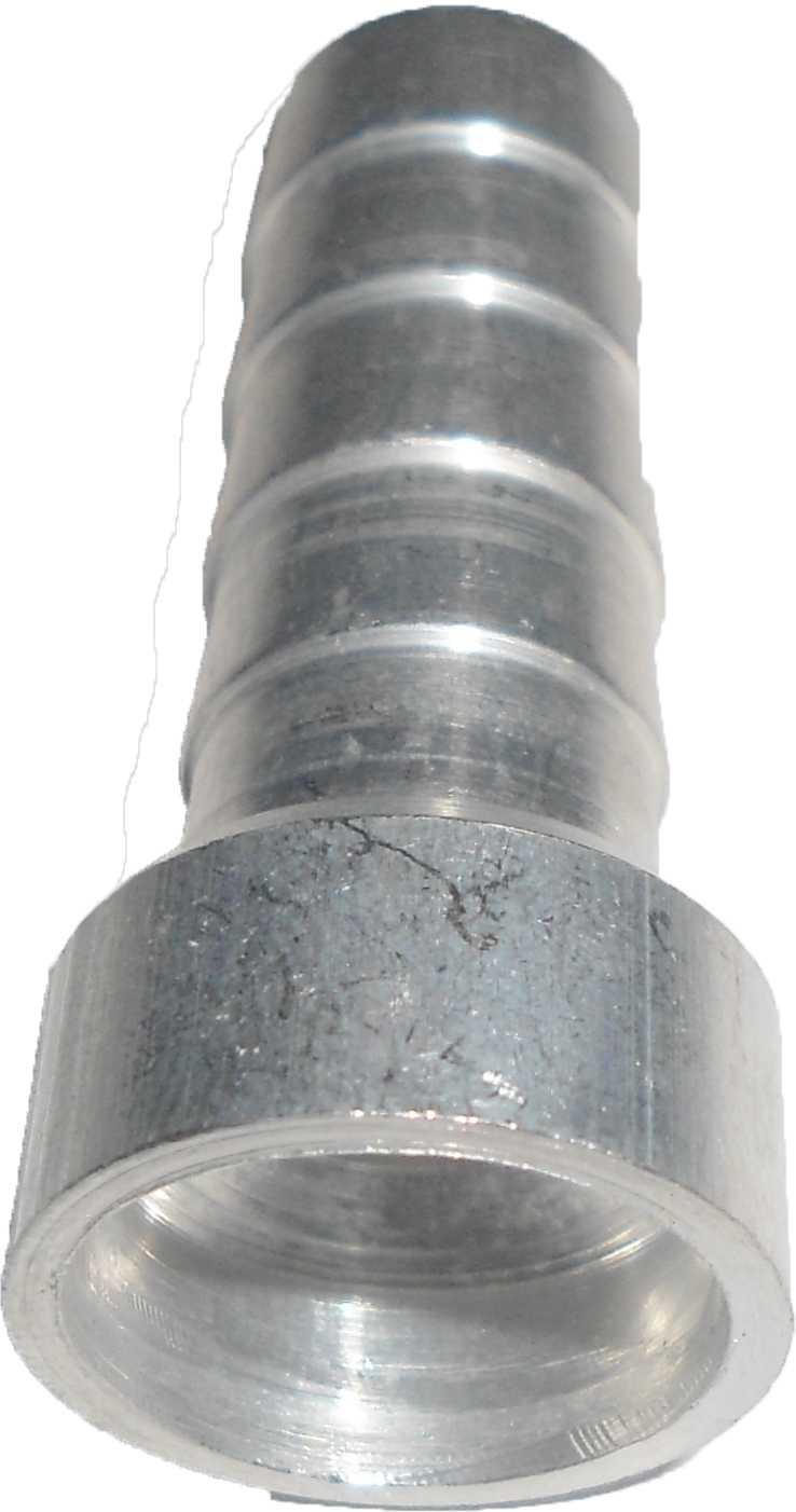 Conexao Salva Vida Espigão Aluminio 10Mm Encaixe Int   10Pcs