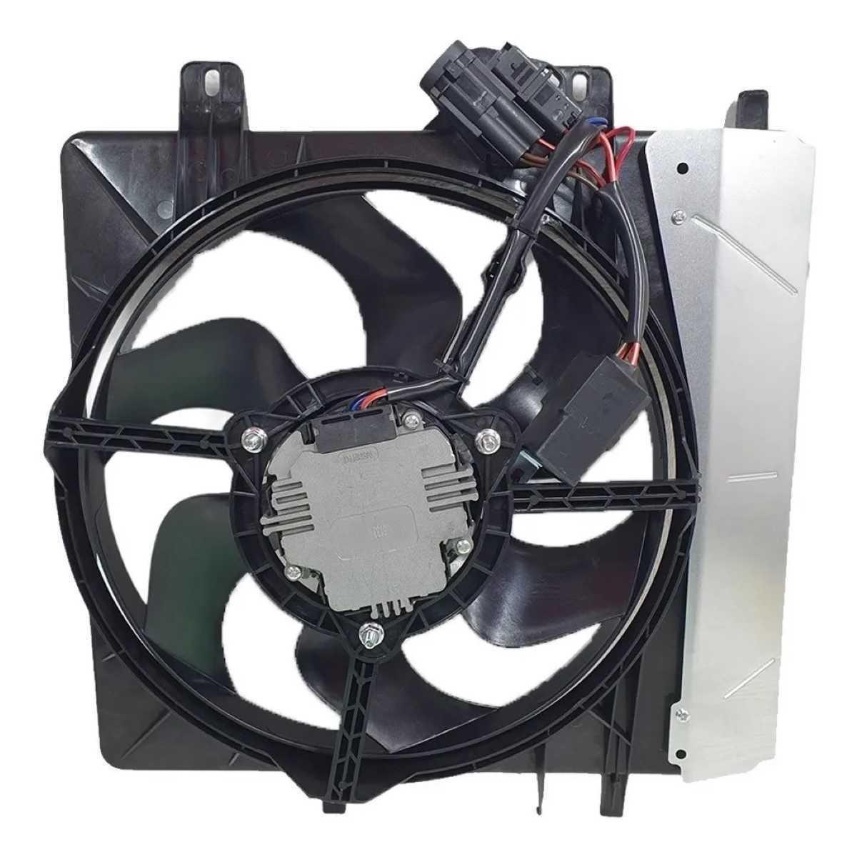 Eletroventilador Citroen C3 2003 A 2008 C/Ar Oem-1253H3