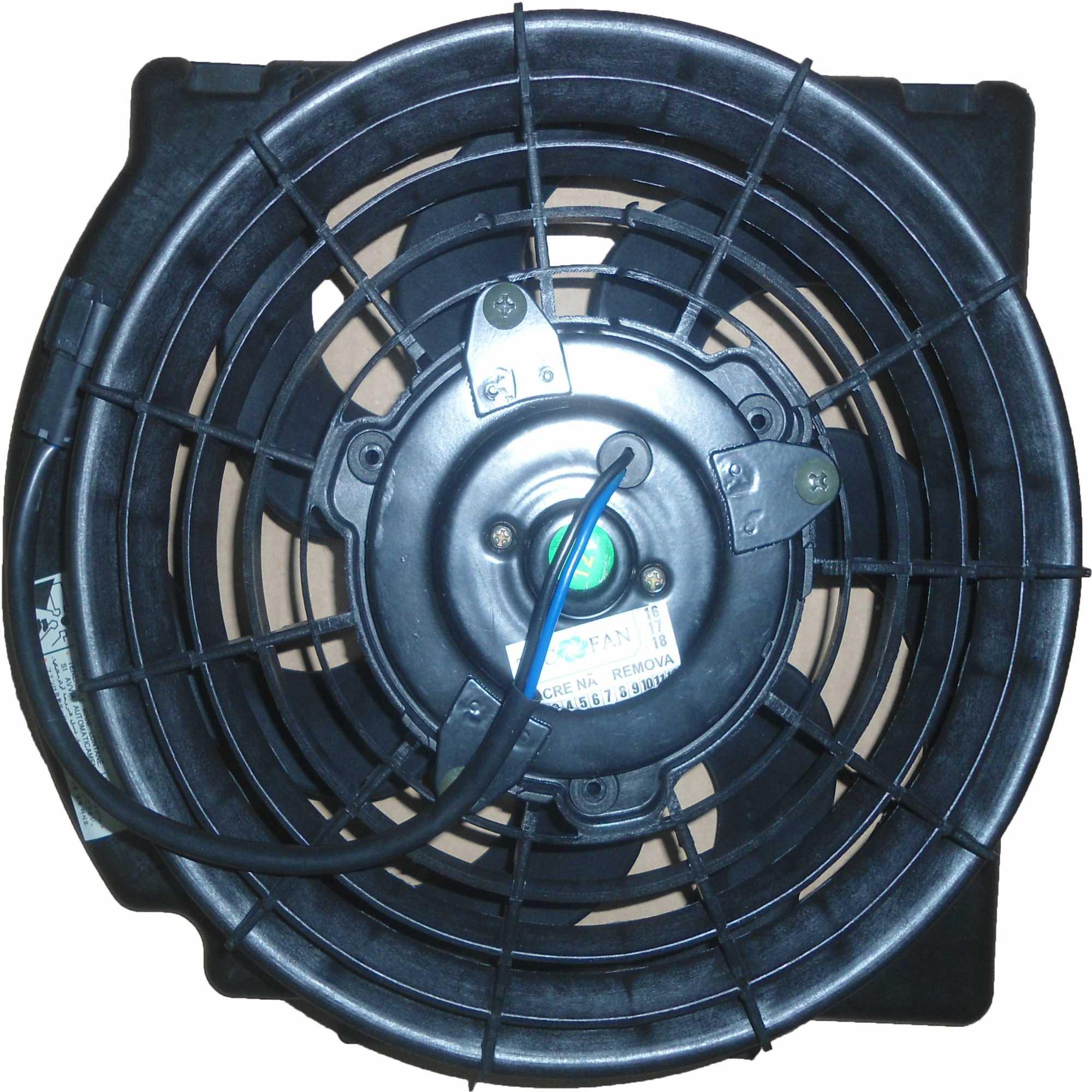 Eletroventilador Corsa 2002 A 2009 C/Ar